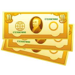 cash, money icon