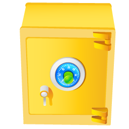 money, safe icon