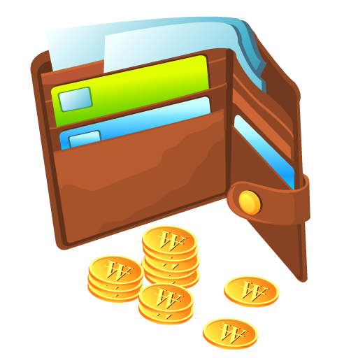 coin, money, purse icon