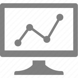 computer, electronics, monitor, schedule icon