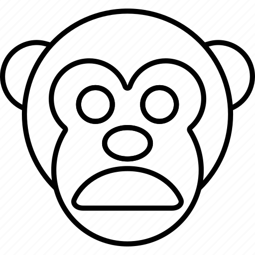 Emoticon, expression, face, monkey, smile icon - Download on Iconfinder