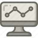 analytic, chart, report, seo, statistic icon