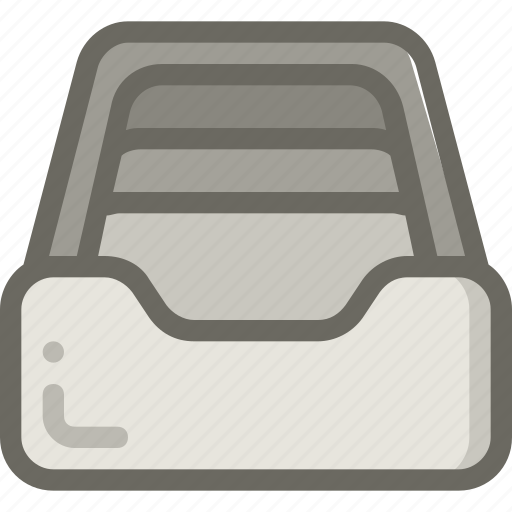 archive, document, full, library icon