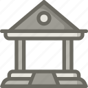 bank, building, school, university