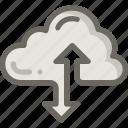 cloud, connection, seo, server, storage icon