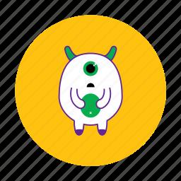 alien, monster, ufo icon