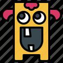 avatar, cyclops, fear, halloween, scary, spooky, terror icon