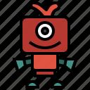 cyclops, halloween, miscellaneous, monster, scary, spooky, terror icon