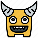 fear, halloween, horror, miscellaneous, monster, spooky, terror icon