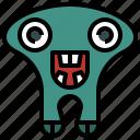 cyclops, halloween, horror, miscellaneous, monster, spooky, terror icon