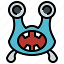 cyclops, horror, miscellaneous, monster, scary, spooky, terror icon