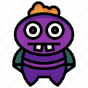 avatar, cyclops, horror, miscellaneous, monster, spooky, terror icon