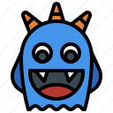 fear, horror, miscellaneous, monster, scary, spooky, terror icon