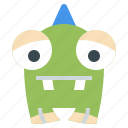 cyclops, fear, halloween, miscellaneous, monster, spooky, terror icon