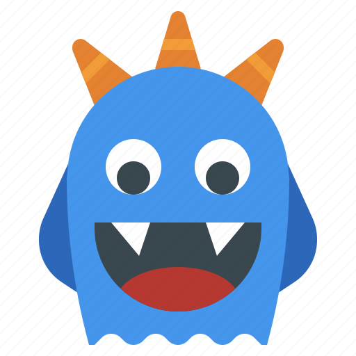 Fear, horror, miscellaneous, monster, scary, spooky, terror icon - Download on Iconfinder