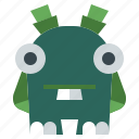 fear, meatball, miscellaneous, monster, scary, spooky, terror icon