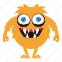 cartoon, funny, halloween, monster