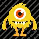 cartoon, cute mosnter, monster, spooky