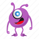 cute monster, funny monster, halloween icon