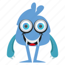 cute monster, funny monster, halloween, kid icon