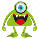 creature, cute monster, funny monster, halloween icon