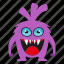 cute monster, devil, funny monster, halloween icon
