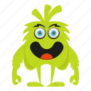 character, creature, cute monster, funny monster icon