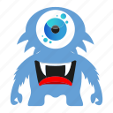 character, cute monster, funny monster, halloween icon