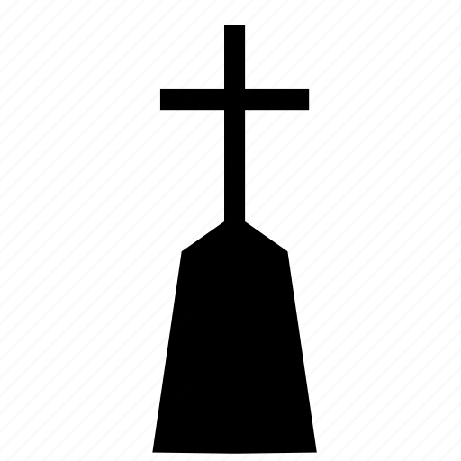christianity, cross, grave, monument icon
