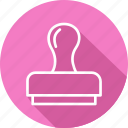 aproval, banking and finance, business, mordern, stamp icon