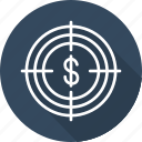 banking and finance, business, funds, hunting, mordern icon