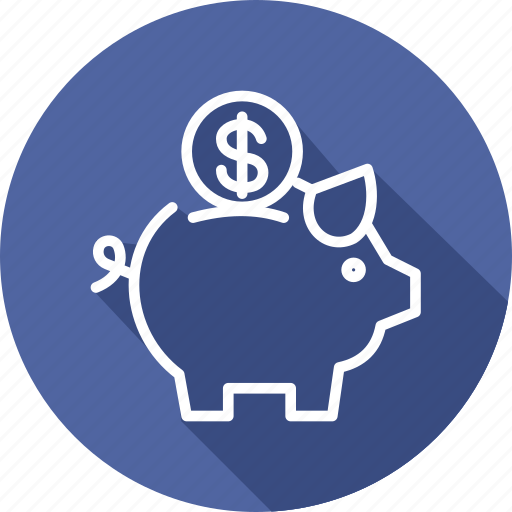 bank, banking and finance, business, mordern, piggy icon