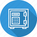 banking and finance, box, business, deposite, mordern, safe icon