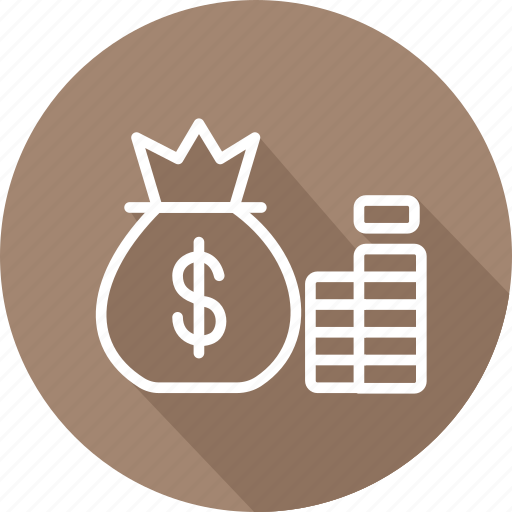 accumulation, banking and finance, business, mordern, wealth icon