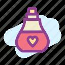 morning, parfume icon