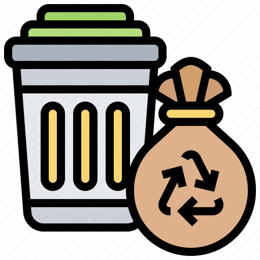 Bin, garbage, recycle, trash, waste icon - Download on Iconfinder