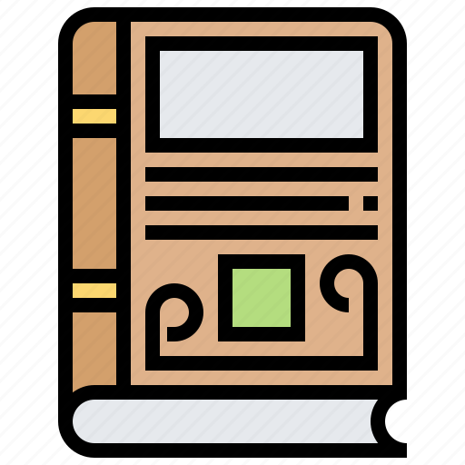 Book, library, novel, reading, study icon - Download on Iconfinder