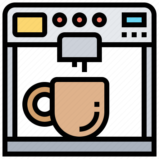 Beverage, coffee, drinks, machine, morning icon - Download on Iconfinder