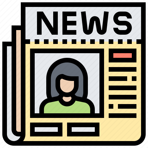 Article, journalism, news, newspaper, update icon - Download on Iconfinder