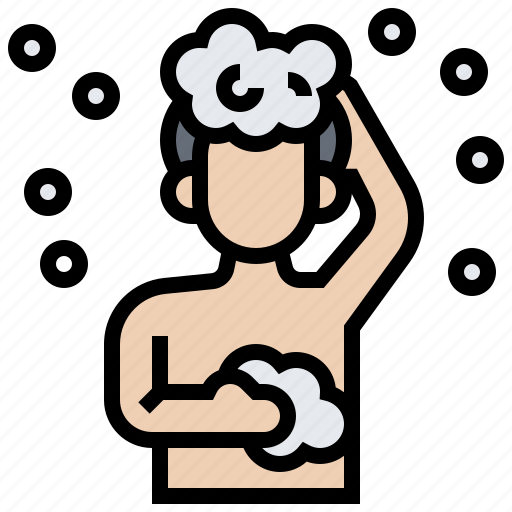 Bath, bathroom, clean, hygiene, shower icon - Download on Iconfinder