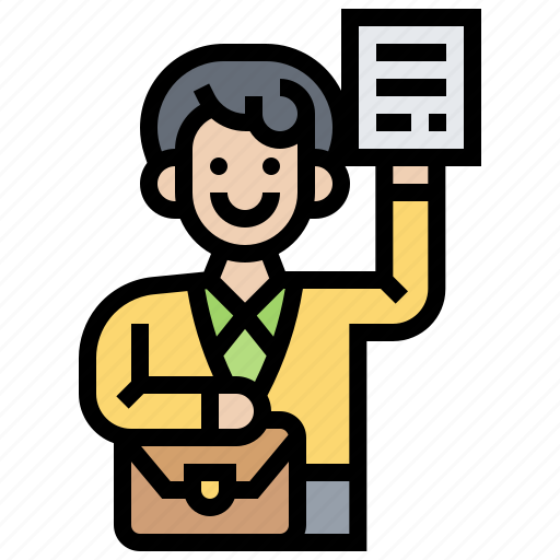employee, occupation, office, professional, work icon