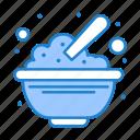 bowl, cereals, food, oats, peanuts