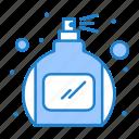 bottle, perfume, spray