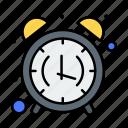 alarm, clock, morning, office