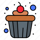 cake, cup, food