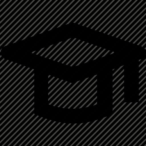cap, graduate, mortarboard, school icon