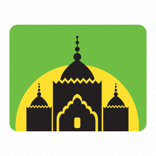 mosque, silo icon