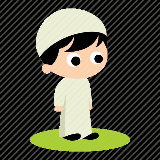 child, muslim icon