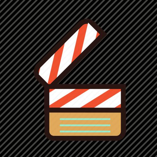 board, calpper, capture, clapperboard, film, movie, scene icon