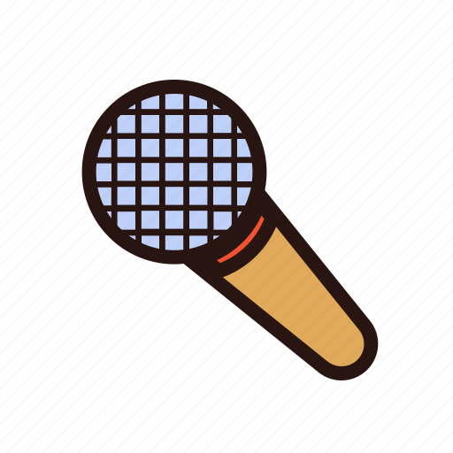 karaoke, mic, microphone, multimedia, old school, play, sing icon